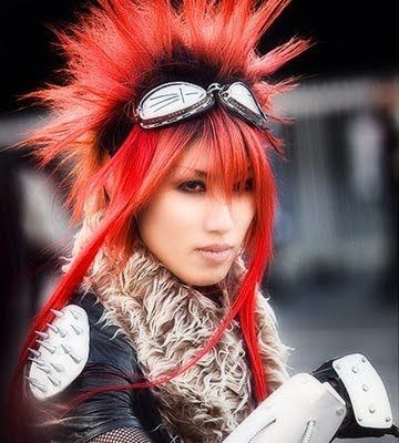 Anime Hairstyles In Real Life 1 Real Life Anime Hair This Is
