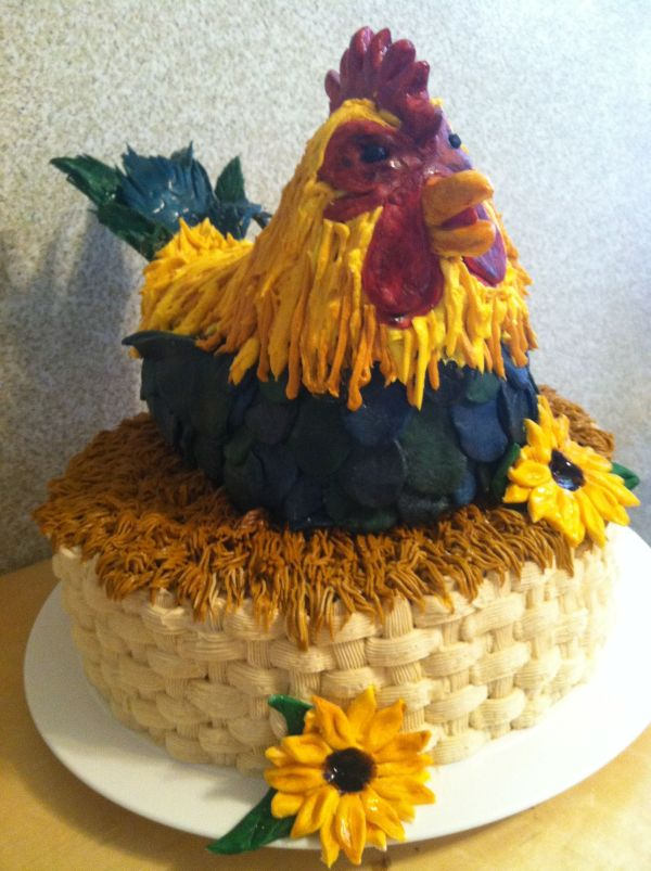 20 Happy Birthday Rooster Cakes Pinterest Pictures And Ideas On