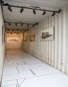 Gm detroit organizations unveil shipping container home also rh nz pinterest