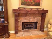 Custom Fireplace Mantels Asheville, NC | Timber Mantels by ...