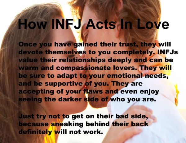 Infj Love - Year of Clean Water