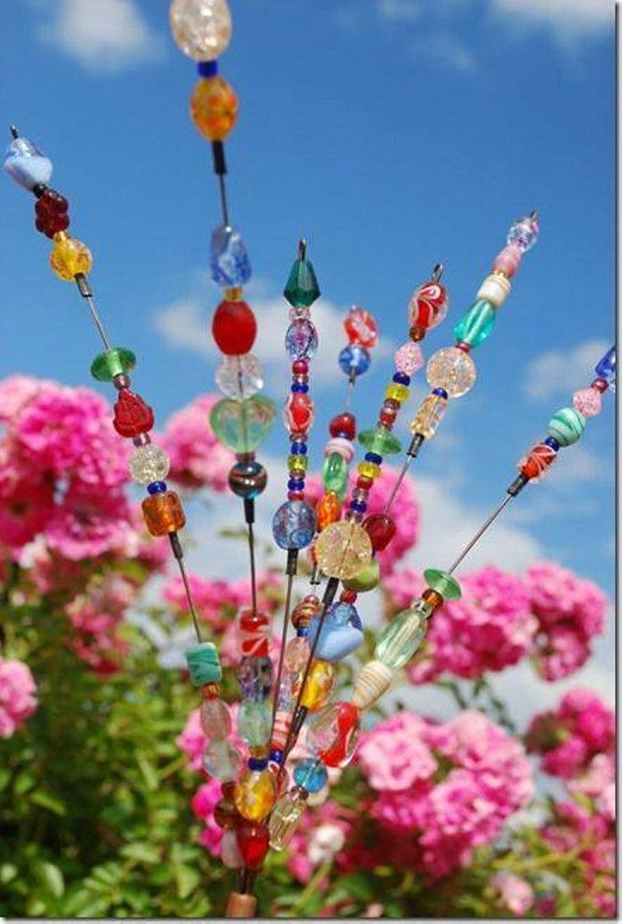 Recycled Garden Art Ideas Outside Projects Pinterest Gardens