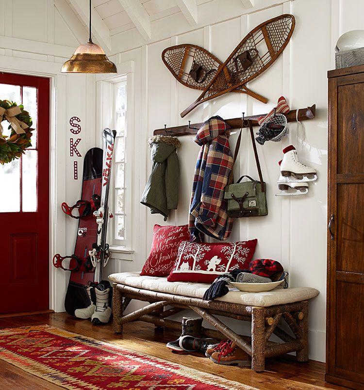 Rustic Outdoor Diy Decorating Christmas Ideas Porch