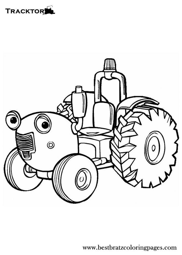 Zetor Kleurplaat Coloriage Tracteur Zetor Imprimer Pour