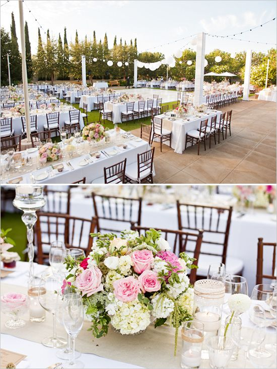 Wedding Reception Decor Wedding Pinterest Gardens