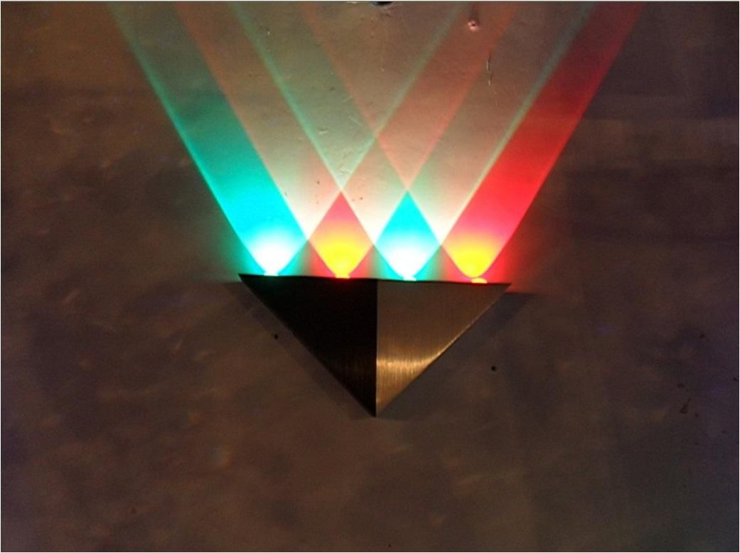 RBG Mix Color Rainbow Quality Home Decoration LED Wall