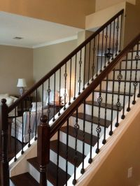 Magnificent Simple Interior Metal Stair Railing New At