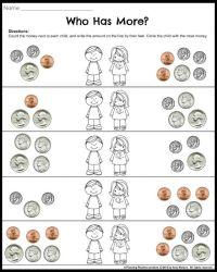 Money Worksheets for 2nd Grade   Money worksheets ...