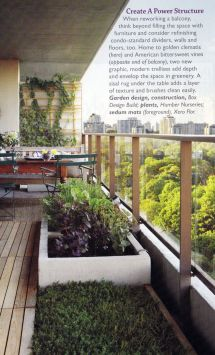 Modern Balcony Garden #terrace #balcony # Outdoor
