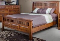 Mission Style Oak Bedroom Furniture Craftsman Bedroom ...