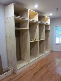 Built-in Closet (also info on applying crown molding, etc ...