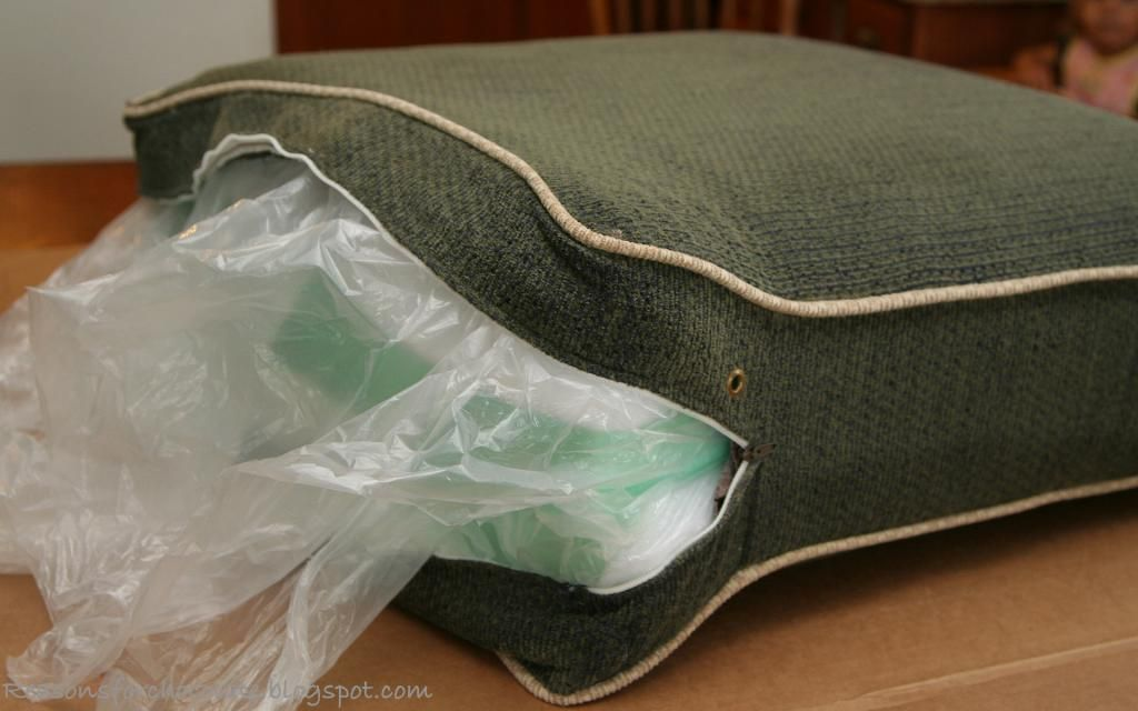 How To Re Fluff Saggy Couch Cushions Best Tutorial EVER! So Easy