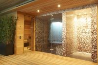 Sauna / Steam Room / Shower area | home sauna | Pinterest ...