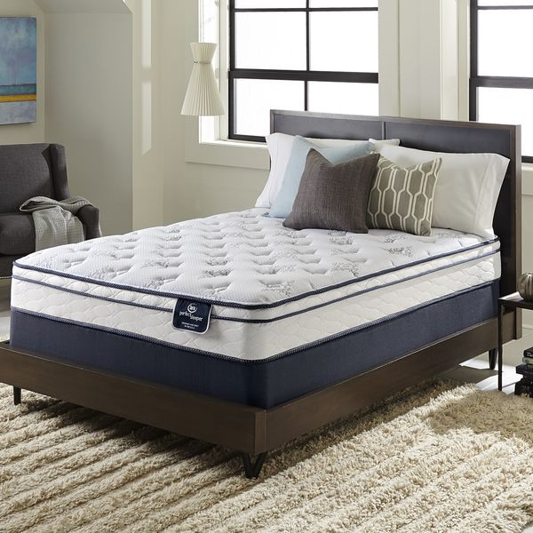 Serta Perfect Sleeper Incite Euro Top Cal King Size Mattress Set Ping