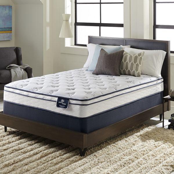 Serta Perfect Sleeper Incite Euro Top Cal King Size Mattress Set Ping