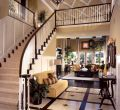 Backgrounds home interior design living room with stairs for photos androids hd luxury straight staircase landing at the front of a