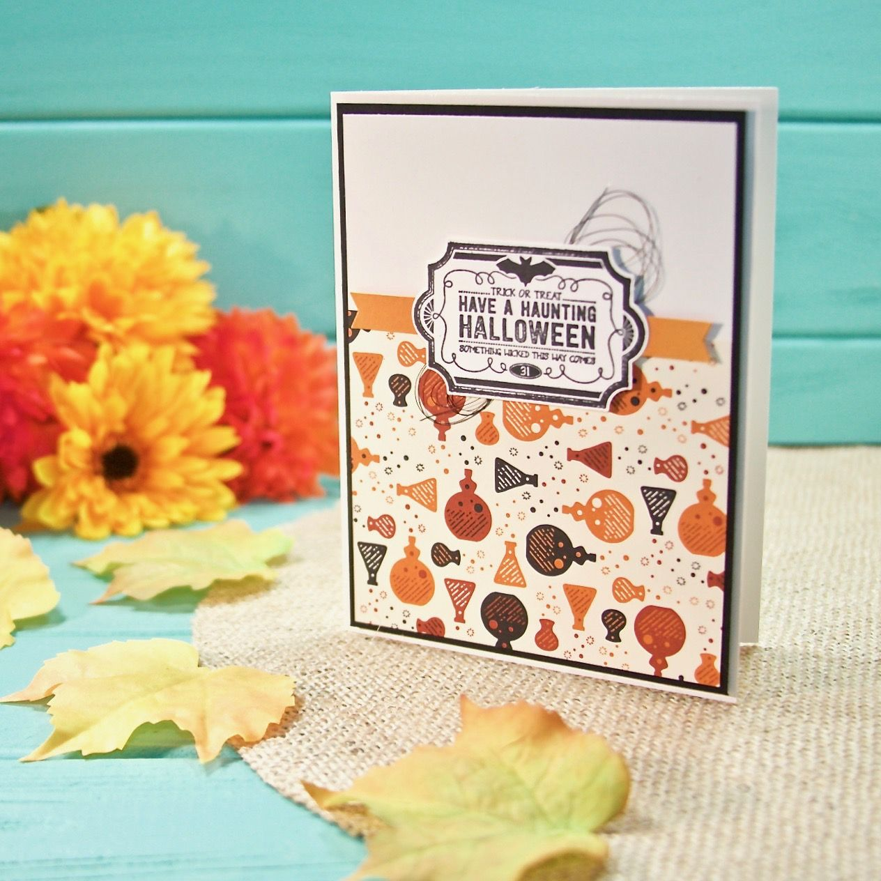 Card Ideas · Its A Spooky Night Halloween On The Sunnygirlscraps Blog As  You Hop Along With The Osat