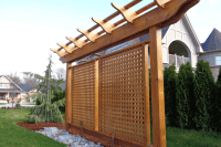 pergola inspired privacy barrier - Yahoo Image Search ...