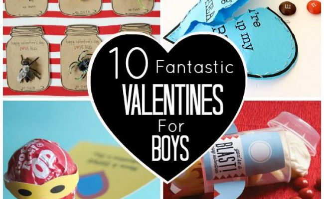 10 Fantastic Valentines For Boys Or An 8 Year Old Girl