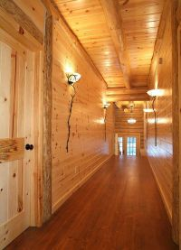 Knotty Red Pine Paneling (tongue & groove)