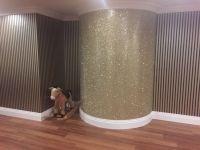Glitter Wall Paint | bedroom wall ideals | Pinterest ...