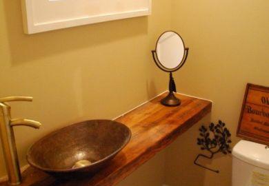 Small Half Bathroom Designs