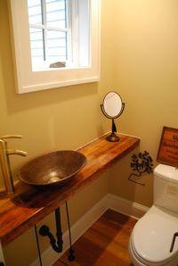 Small Half Bathrooms on Pinterest