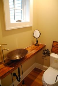 Small Half Bathrooms on Pinterest | Half Bathroom Remodel ...