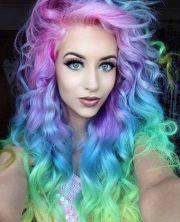 cool funky hair color ideas