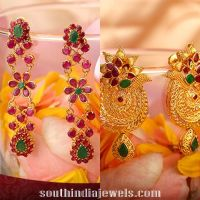 Latest Gold Earring Designs From Kalyan Jewellers | Gold ...