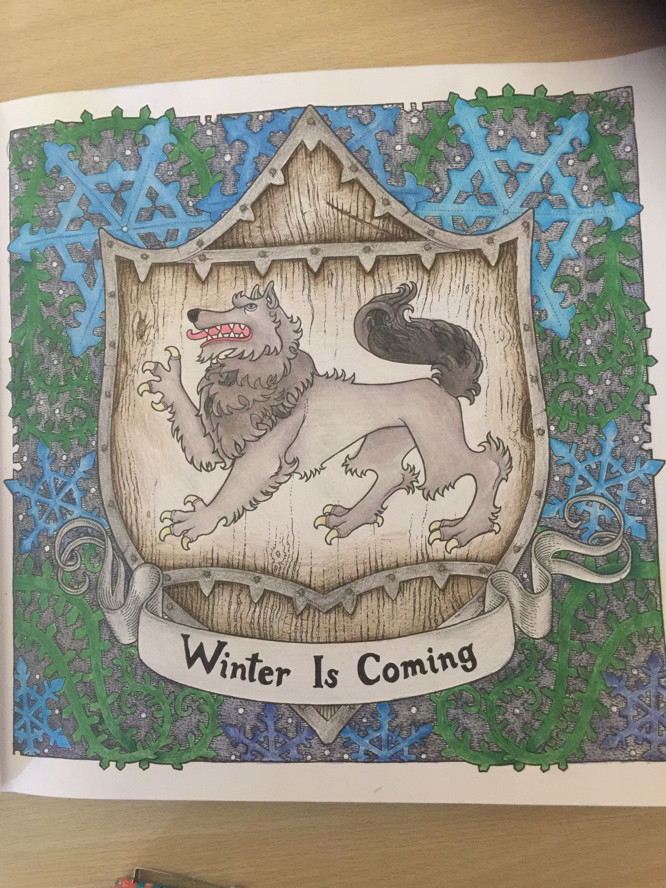 Adult Colouring Book Review Game Of Thrones Reviews Au Adultcoloring