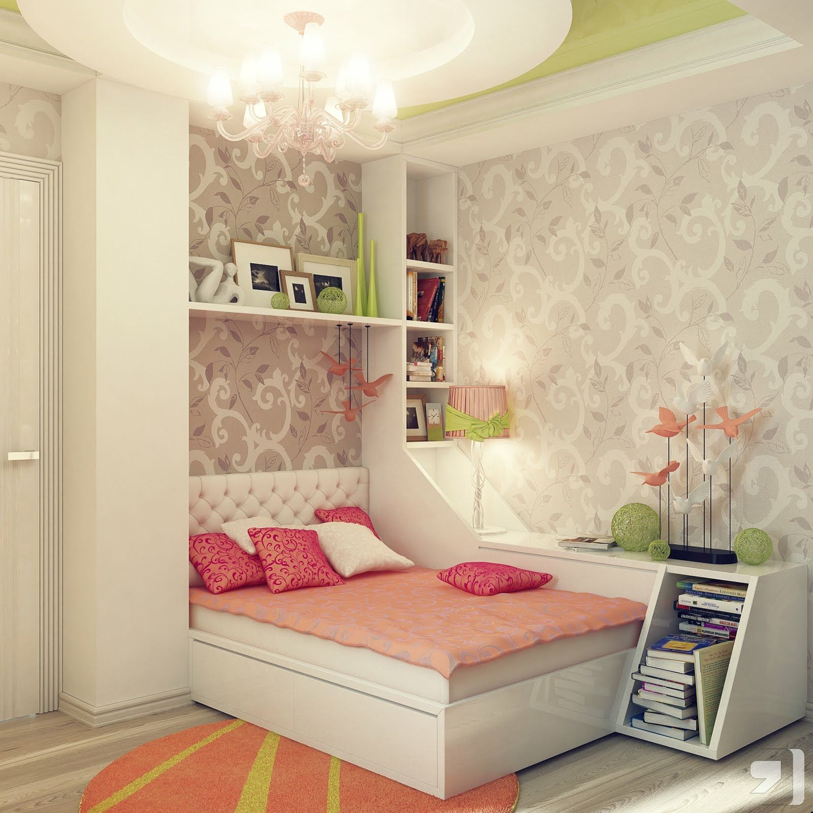 Decorating A Bedroom Theme For Girl With Princess HOME DESIGN