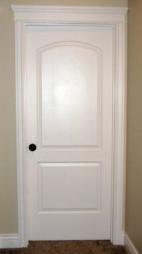 Interior Door...love the crown over a bedroom door.   my ...