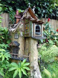 What to do with a tree stump. | Fairy Gardens | Pinterest ...