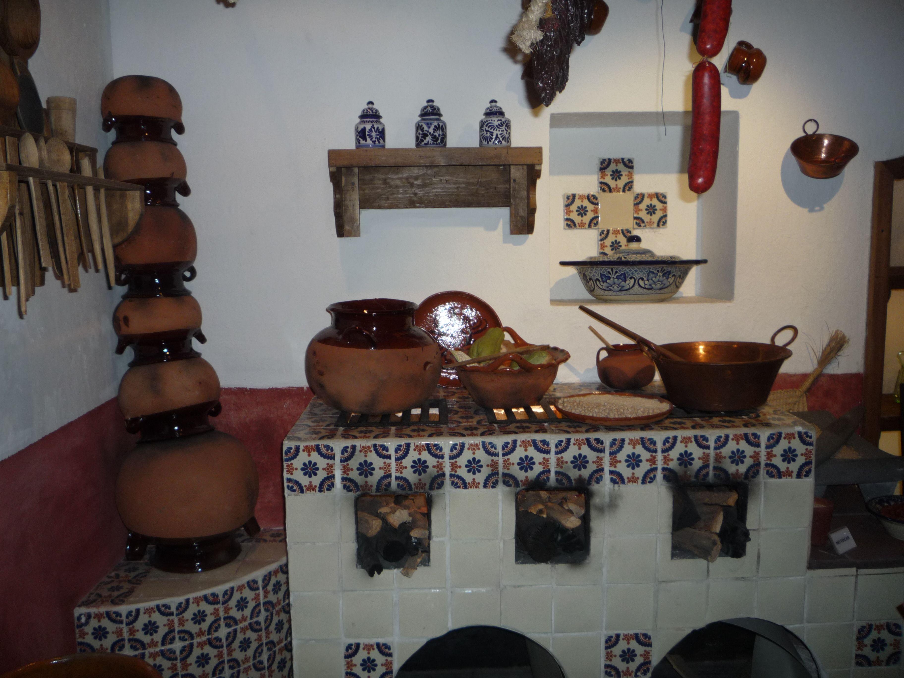 Cocina tradicional mexicana  Cocinas Rsticas  Pinterest  Mexican kitchens Mexicans and Haciendas