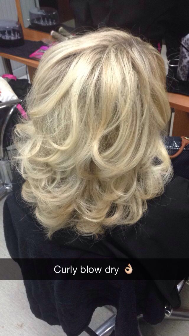 Curly Blow Dry  Premiere hair  Pinterest  Blow dry