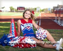 Senior Cheerleader Photography