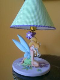 Tinkerbell lamp for girls Lampara de Campanita Tinkerbel ...