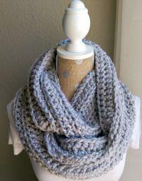 Free Chunky Crochet Scarf Pattern | Crochet and Knitting ...