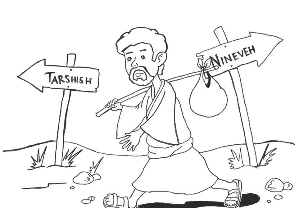 Jonah going to Tarshish instead of Nineveh (Jonah 1