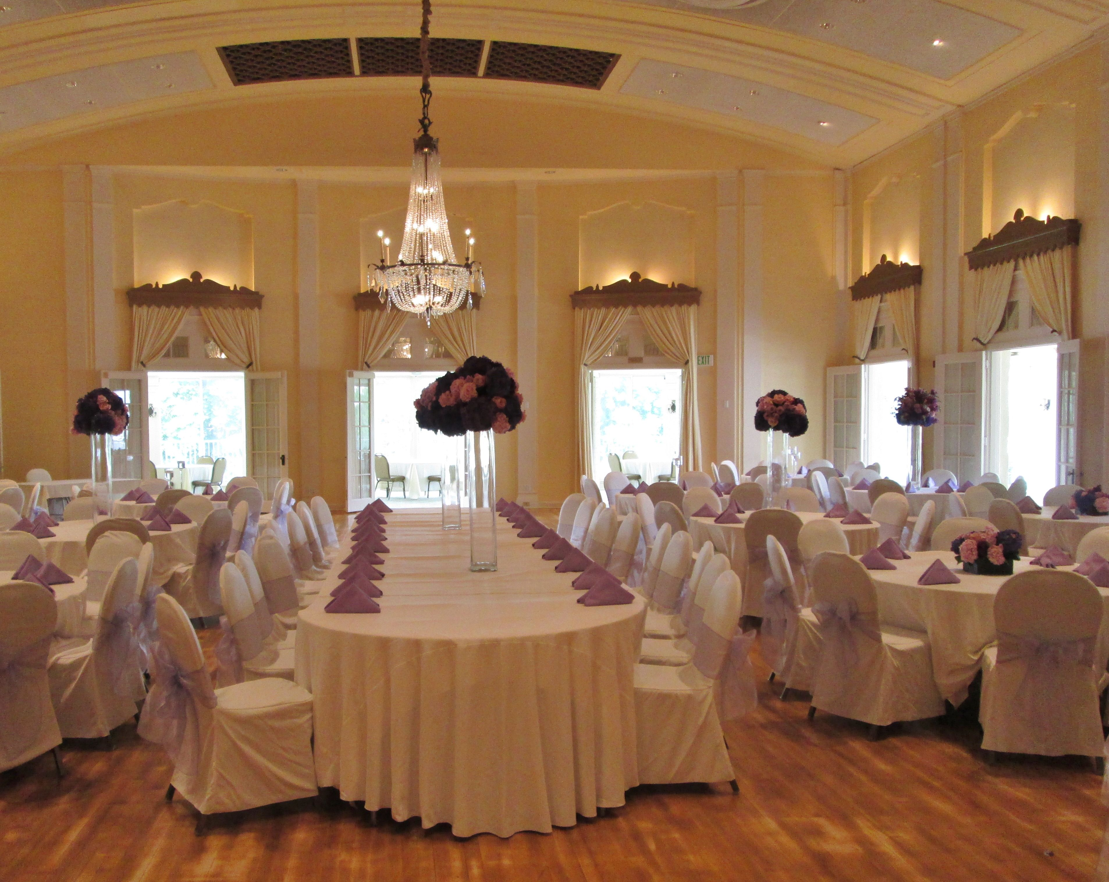 wedding chair covers lilac armchair and ottoman slipcover ivory table linens with organza