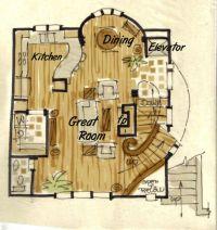 Hobbit House Plan - aboveallhouseplans.com - like the ...