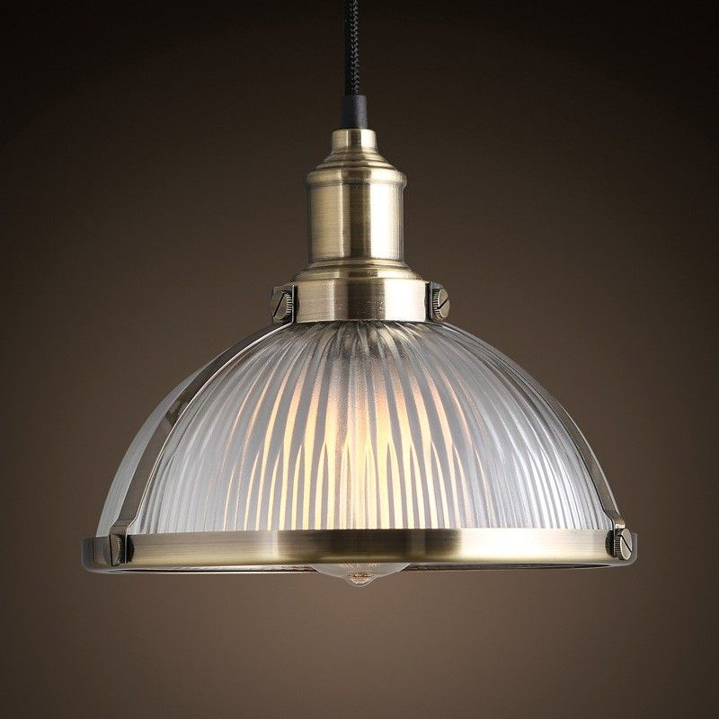 Chrome Dome Pendant Light