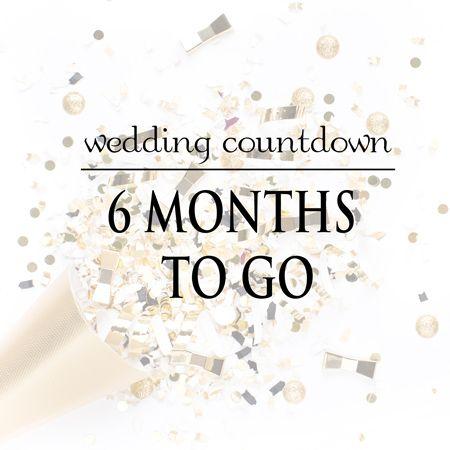 Wedding planning  My personal wedding planning journey with 6 months to go  DIY Wedding