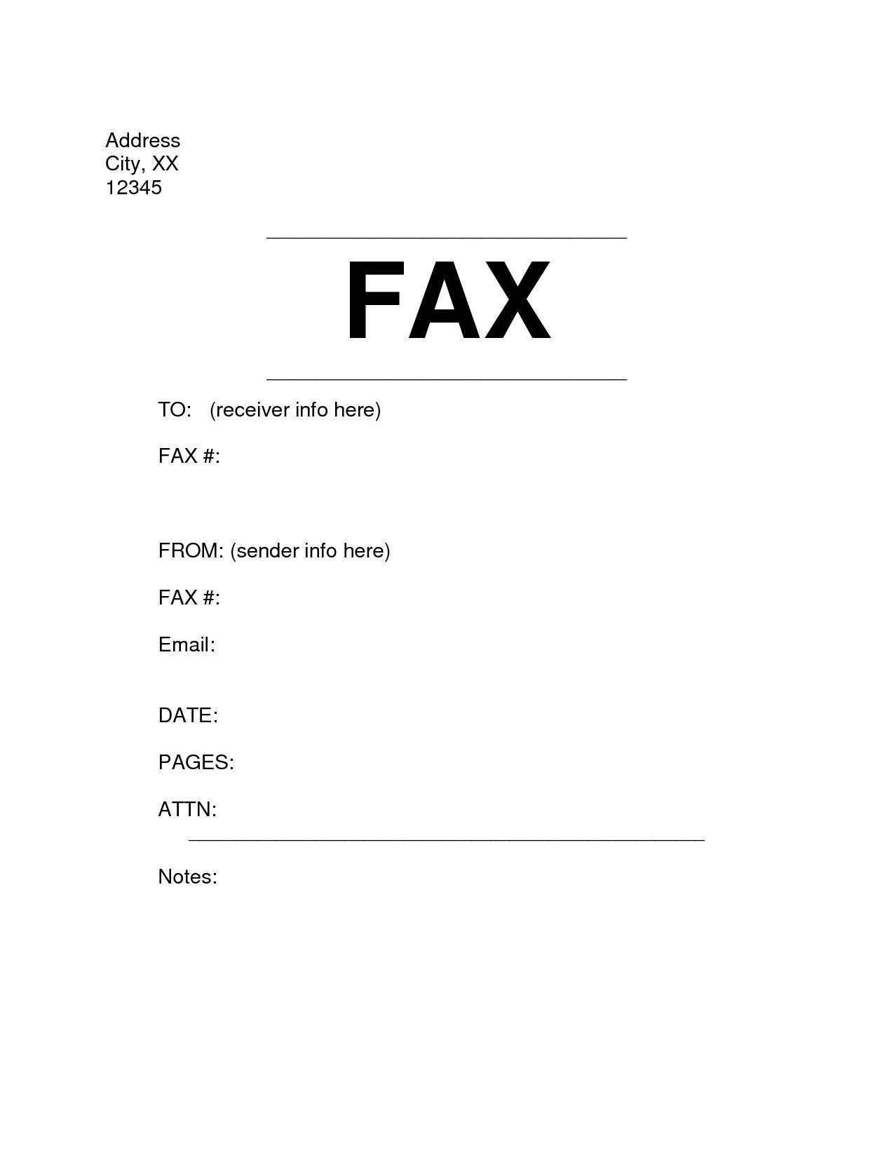Fax Cover Letter Example Resume  Fax Cover Letter Example