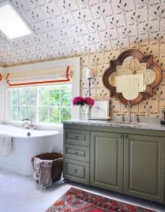 Most popular unique bathroom mirrors to choose also interior design rh za pinterest