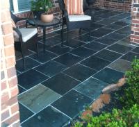 Black Slate Tile Patio | : BS ML set inspiration ...