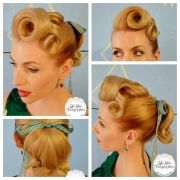 rockabilly ponytail hair & make