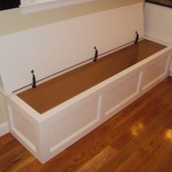 Diy Kitchen Bench With Storage Ninja Mega Complete System 1500 Hinged Top Wellesley Ma