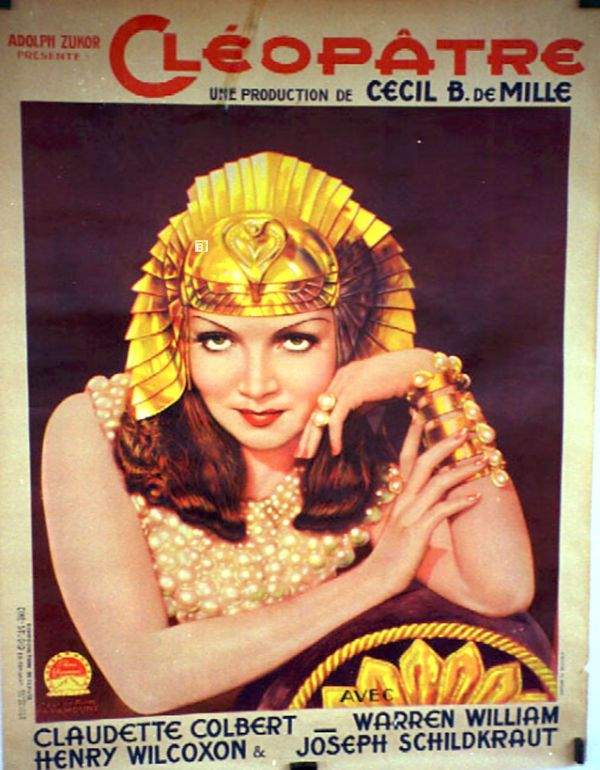 """""""cleopatre"""" Movie Poster - """"cleopatra"""""""